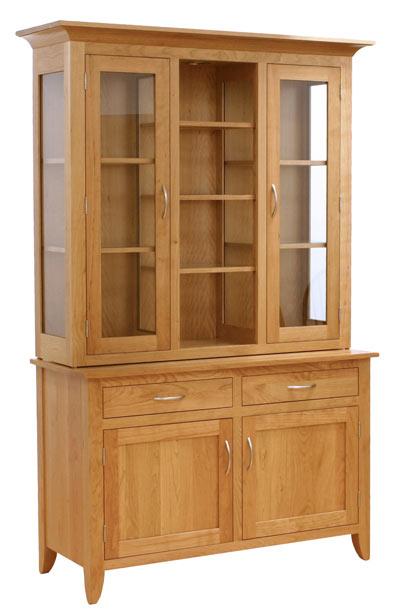 Modern Shaker Style Kitchen: Amish Furniture Designed