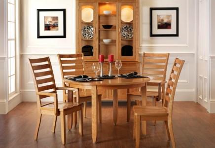 Modern Shaker Dining Room Amish Furniture Designed