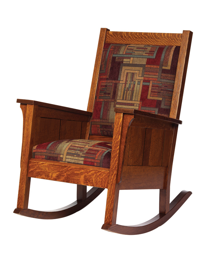 Shaker Rocker Amish Furniture Designed
