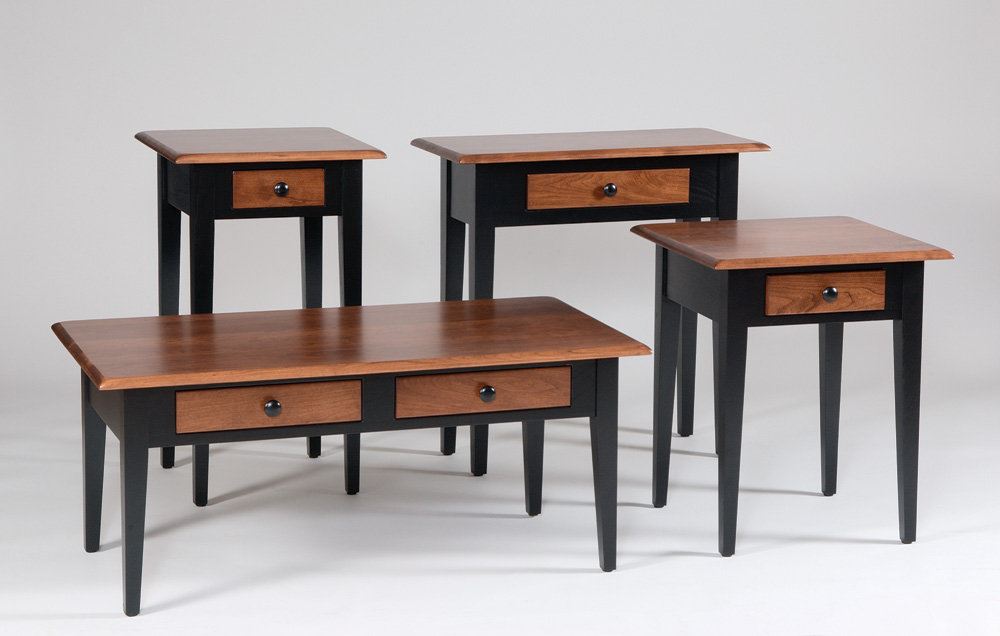 Fresno Table Collection Amish Furniture Designed