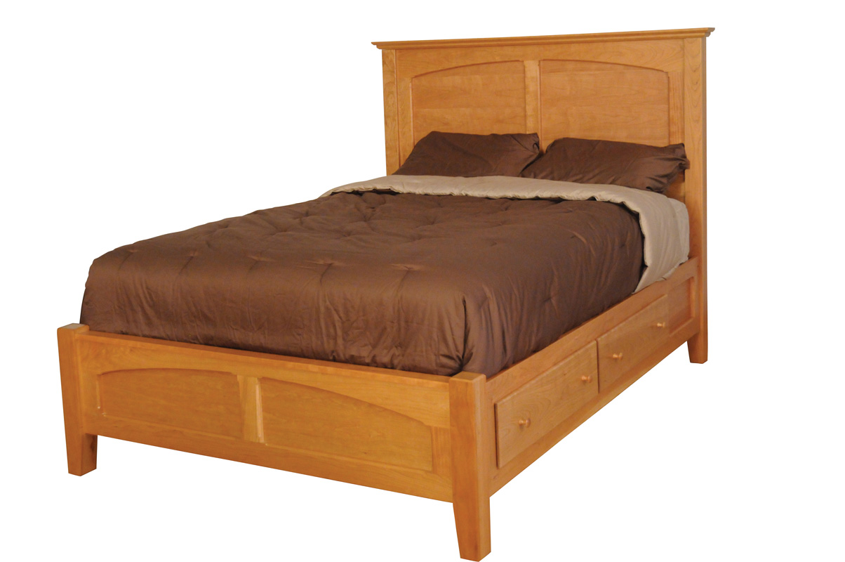 Shaker Bed Amish Furniture Designed