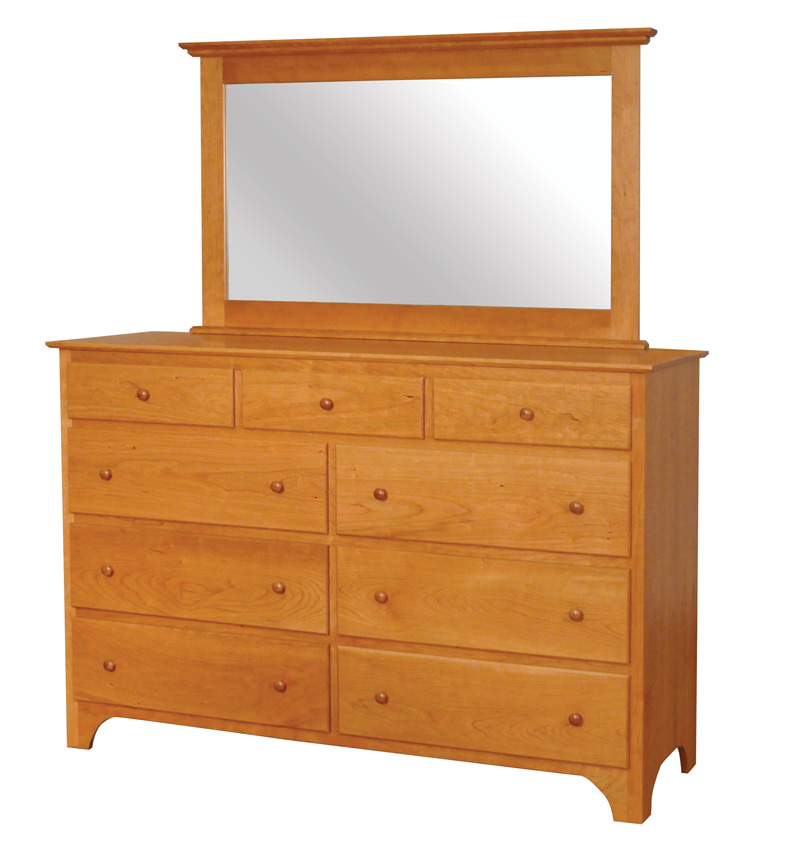 Shaker Dresser Amish Furniture Designed : 411ShakerTallDresser from amishfurnituredesigned.com size 795 x 850 jpeg 114kB