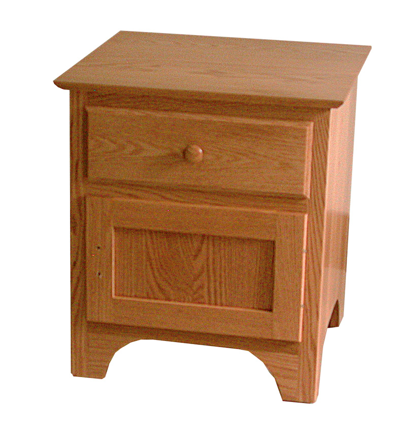 shaker nightstand amish furniture designed