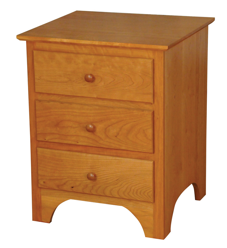 Shaker Nightstand - Amish Furniture Designed