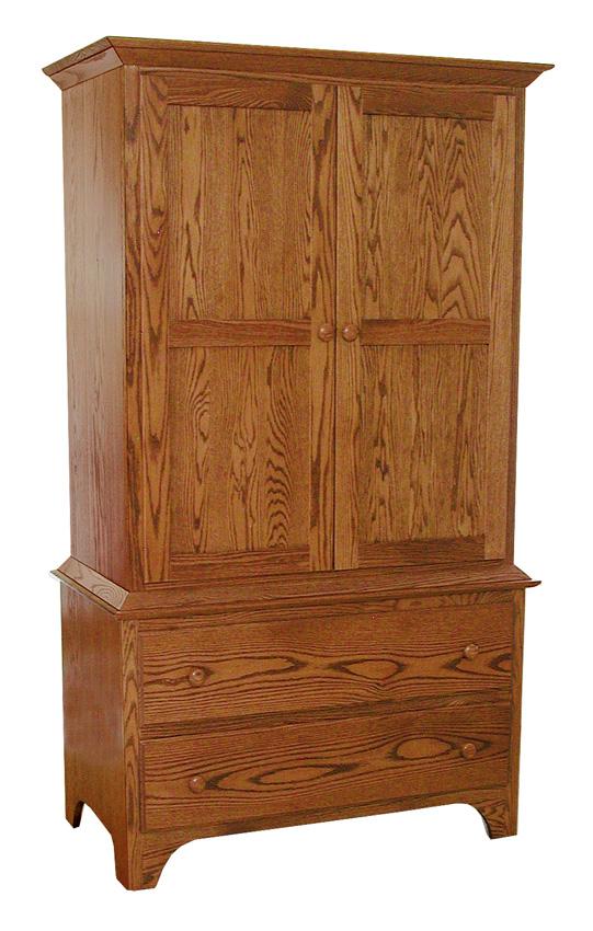 Shaker Armoire Amish Furniture Designed : 426ShakerArmoire from amishfurnituredesigned.com size 541 x 850 jpeg 188kB