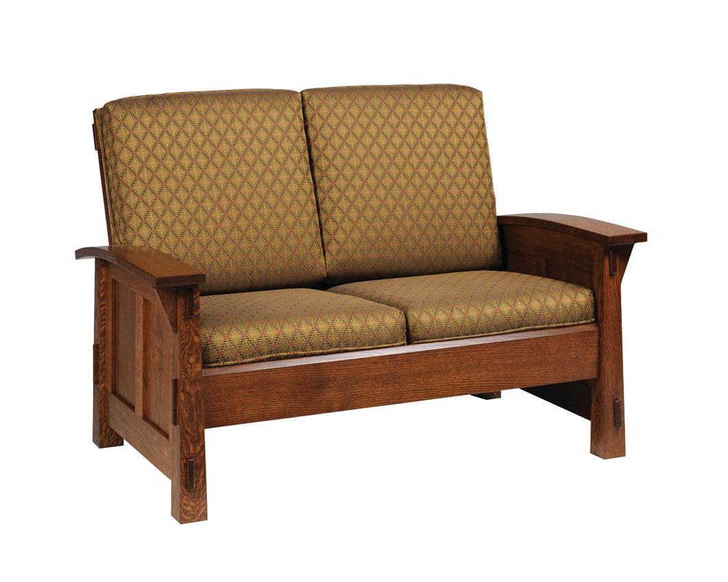 Olde shaker sofa amish furniture designed for Shaker furniture