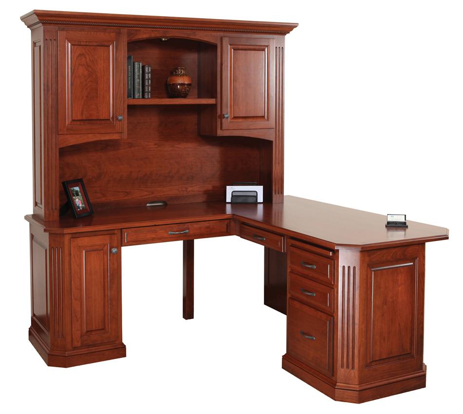 Buckingham Desk Amish Furniture Designed