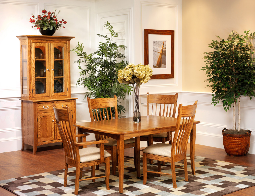 english shaker dining room
