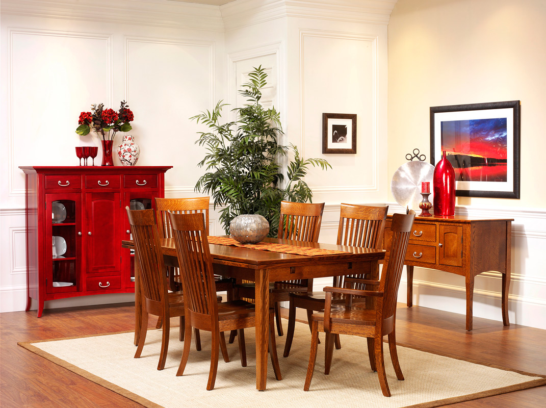 Wooden Dining Room Chairs likewise Shaker Dining Room Furniture Why We ...