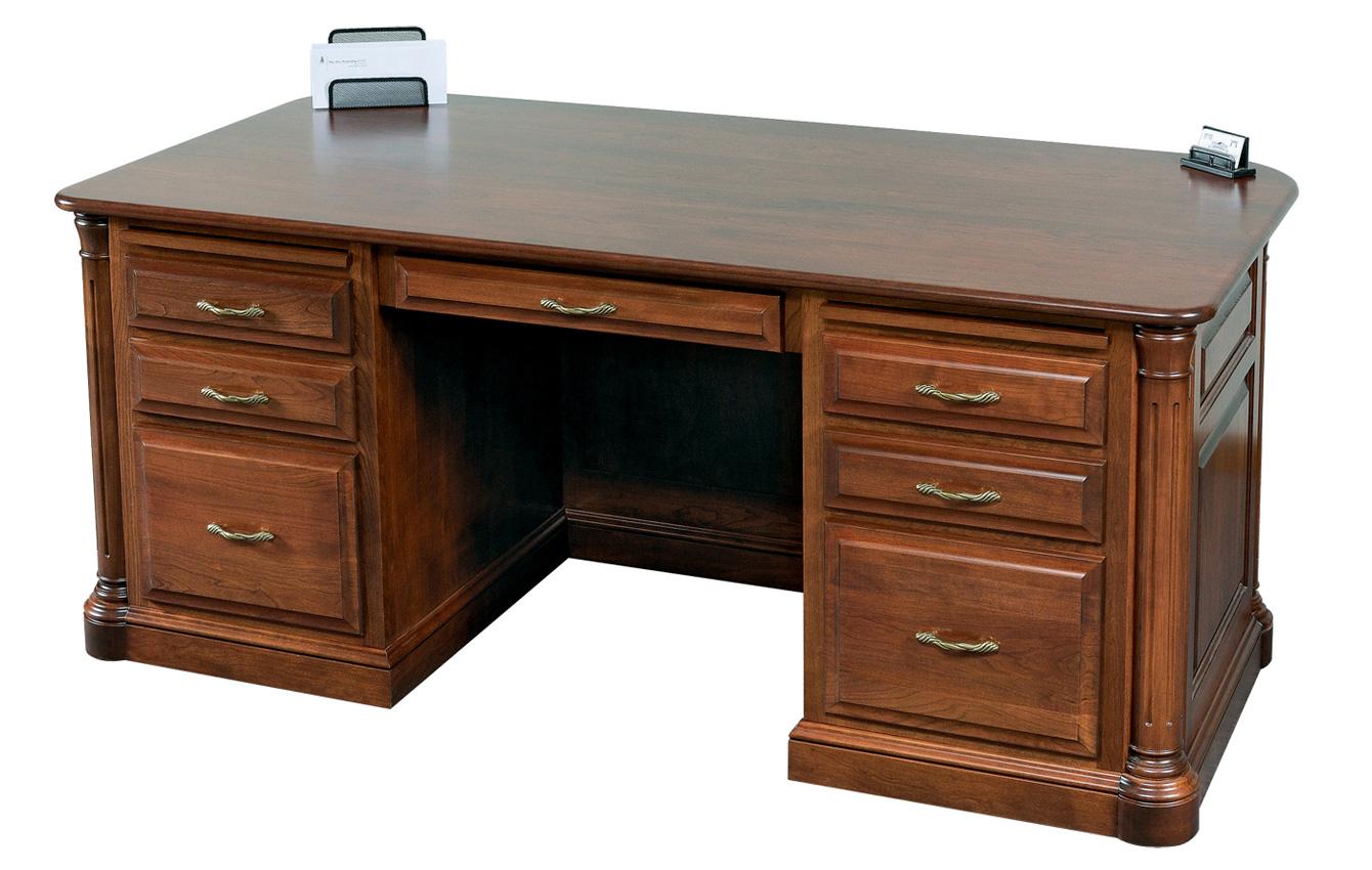Jefferson Desk Amish Furniture Designed