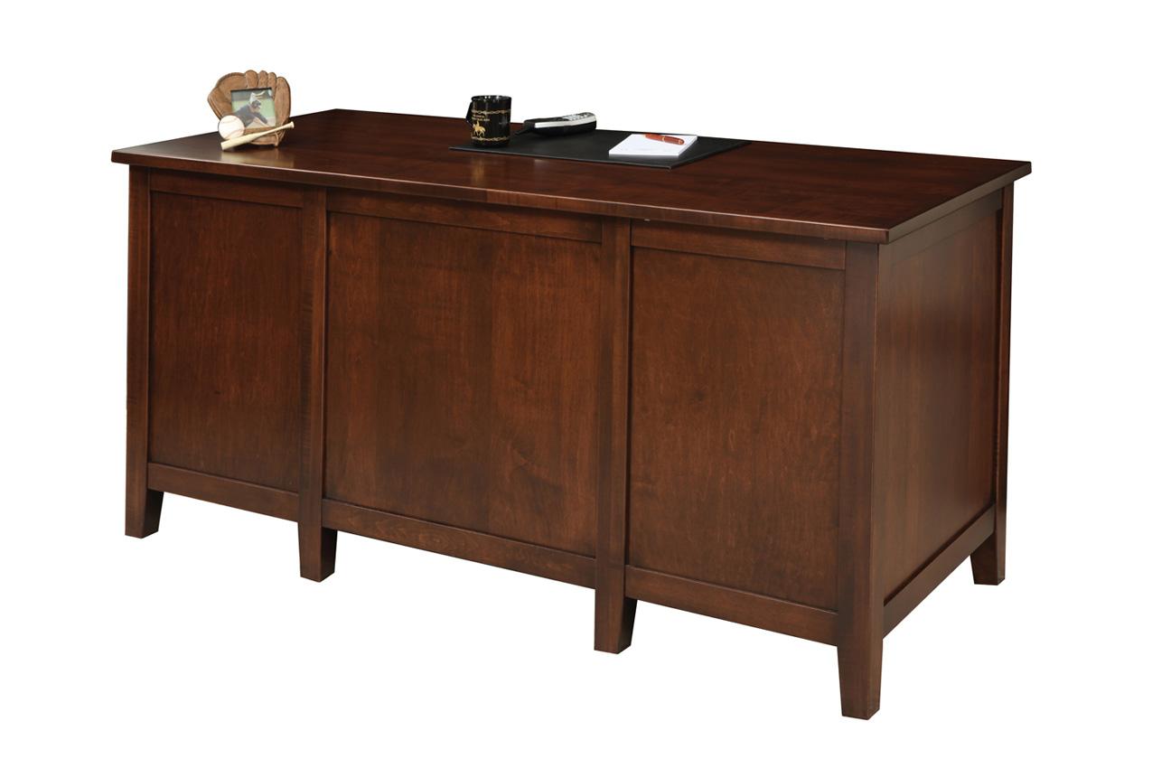 Manhattan Desk Amish Furniture Designed