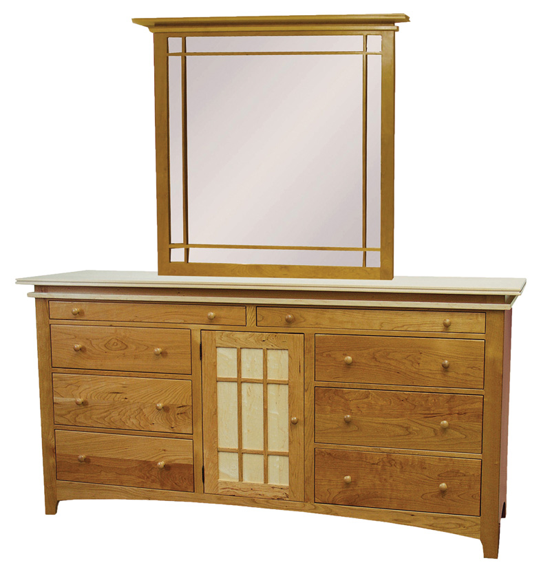 Maple Creek Dresser Amish Furniture Designed