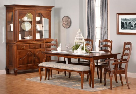 provence dining room | Provence Dining Room - Amish Furniture Designed