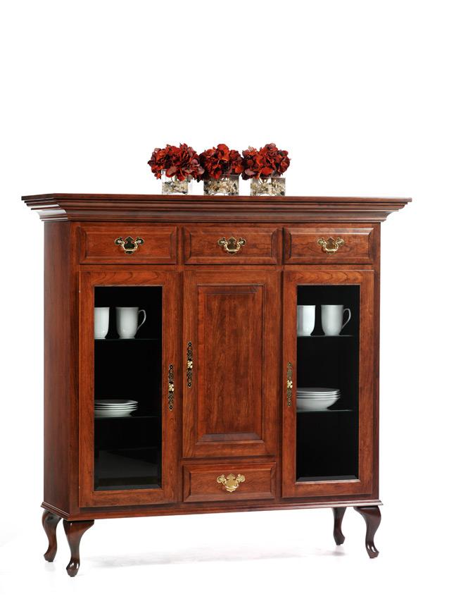 Queen Victoria Buffet Amish Furniture Designed
