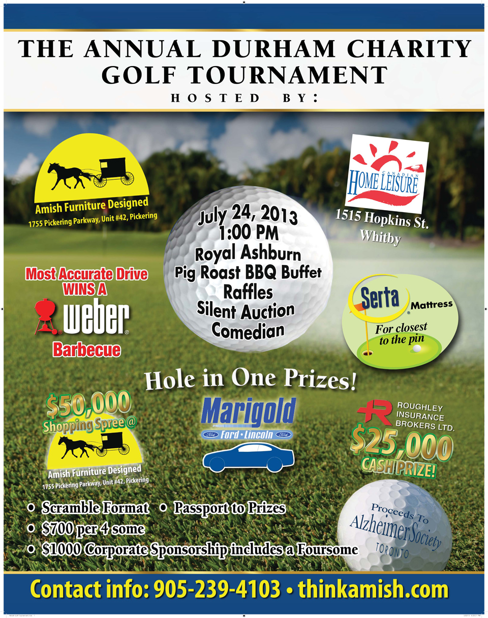 Annual Durham Charity Golf Tournament