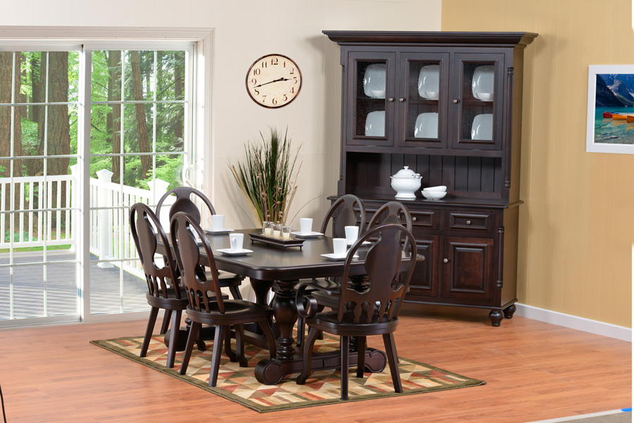 european dining room furniture | European Dining Room - Amish Furniture Designed