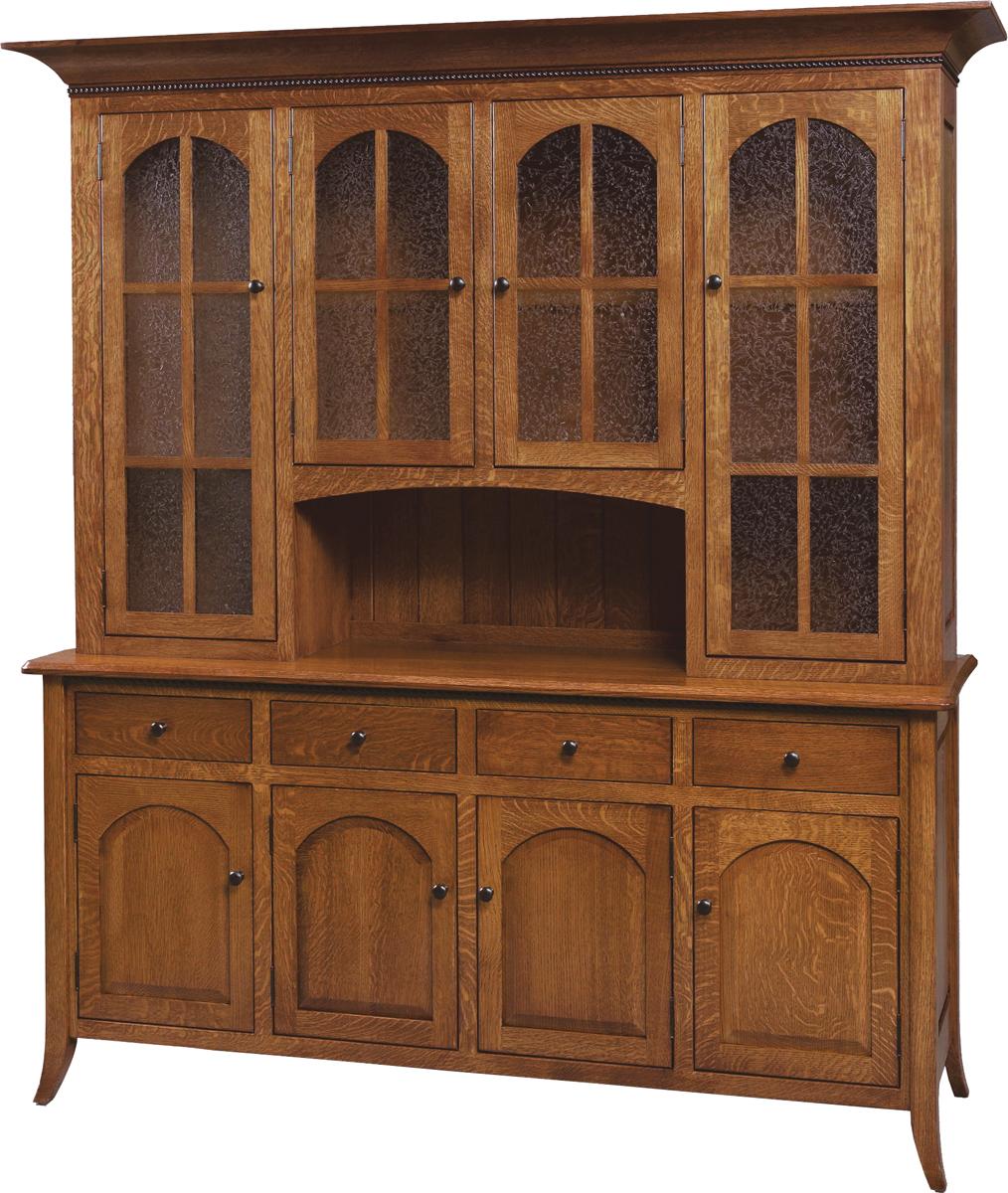 Bunker Hill Buffet Hutch Amish Furniture Designed
