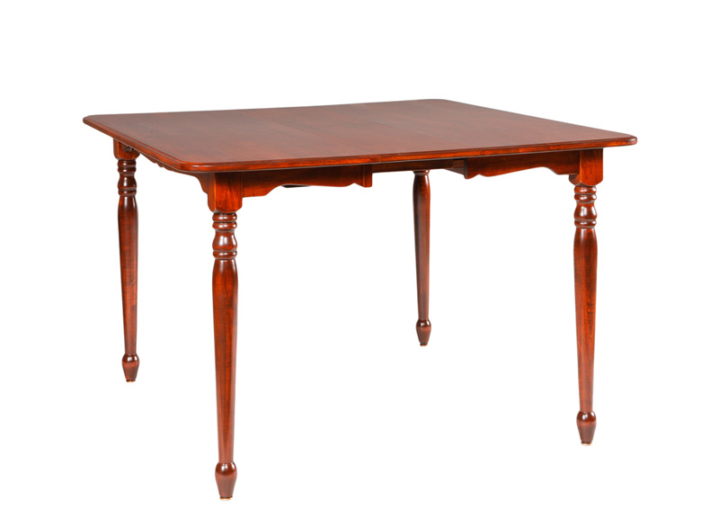New england bay table amish furniture designed for New england furniture