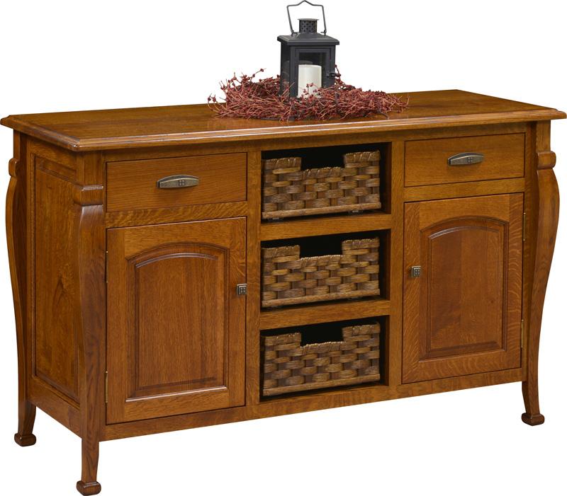 Kingsport Buffet Amish Furniture Designed