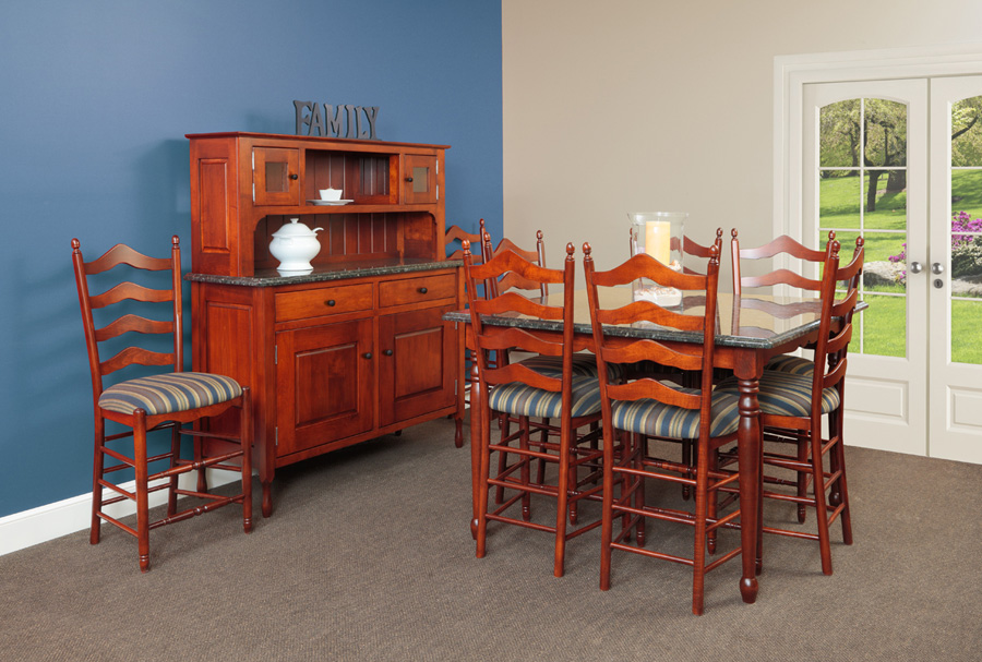 New England Bay Dining Room Amish Furniture Designed